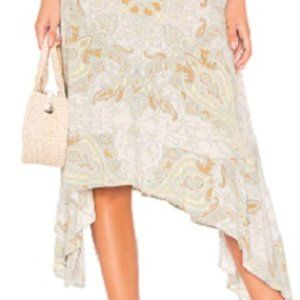 Free People At the Shore Skirt-Neutral Size 0, NEW